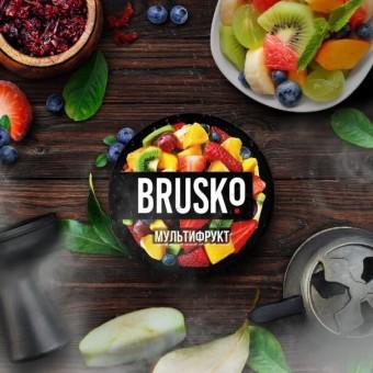 смесь для кальяна Brusko (бруско) - Мультифрукт