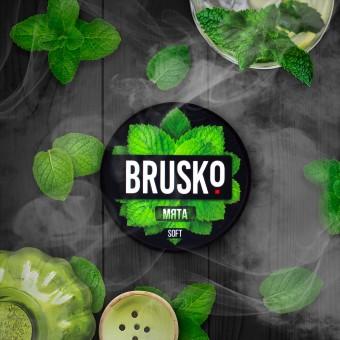 смесь для кальяна Brusko (бруско) - Мята