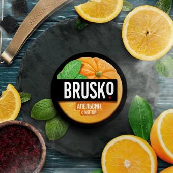 смесь для кальяна Brusko (бруско) - Апельсин с мятой
