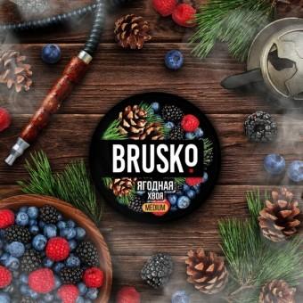 смесь для кальяна Brusko (бруско) - Ягодная хвоя