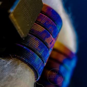 Готовые спирали (койлы) TRIPLE FUSED 0.35fecr + 0.1ni ~0.15Ω D-3mm T-5 (Lanskov Coil)