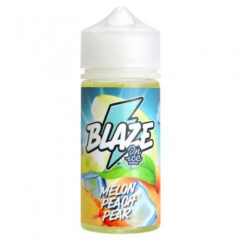 Е-жидкость Blaze - Melon Peach Pear - Спелая дыня, сочный персик и сладкая груша