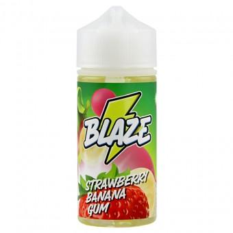 Е-жидкость Blaze - Strawberry Banana Gum - Жвачка со вкусом клубники, банана и драгонфрута