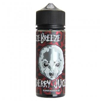 Е-жидкость Freeze breeze - Cherry juice - Вишня, холодок. Сочный и яркий вкус свежевыжатого вишнёвого сока, в который словно добавили колотого льда щедрой рукой.