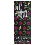 Line Up - El Thunder x Novacloud - Освежающий напиток из манго и малины с нежным слоем кремчиза