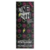 Line Up Salt - El Thunder x Novacloud - Освежающий напиток из манго и малины с нежным слоем кремчиза