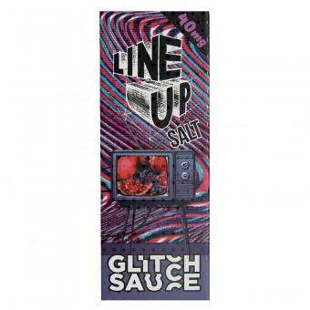 Е-жидкость Line Up Salt - Glitch Sauce - Сок из граната и черники со льдом