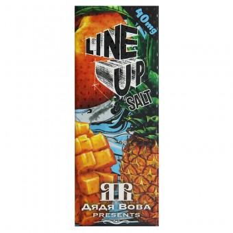 Е-жидкость Line Up Salt - Дядя Вова Presents - Прохладный тропический микс из ананаса, персика и манго