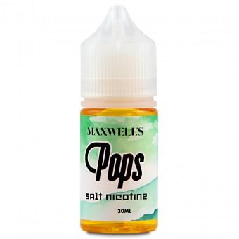 Е-жидкость Maxwell's Salt - Pops – Кисло-сладкая жвачка с киви и яблоком