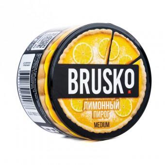 Brusko (бруско) - Лимонный пирог Кальянная смесь (50 гр, средняя) купить в Минске недорого