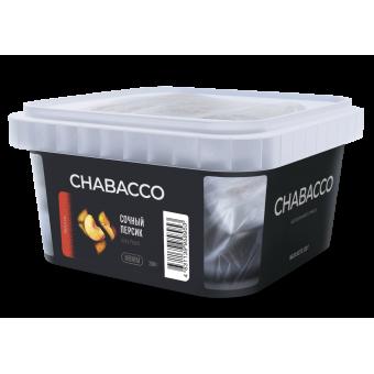 Chabacco Juicy Peach (Сочный Персик) Medium 200 г. Смесь для кальяна купить в Минске