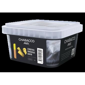 Chabacco Mix Creamy lemon waffles (Сливочно-лимонные вафли) Medium 200 г. Смесь для кальяна купить в Минске