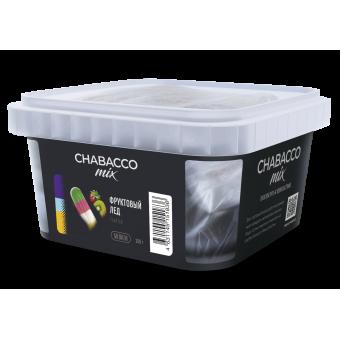 Chabacco Mix Fruit ice (Фруктовый лед) Medium 200 г. Смесь для кальяна купить в Минске