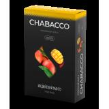 Chabacco Indian Mango (Индийский манго) Medium 50 г. Смесь для кальяна