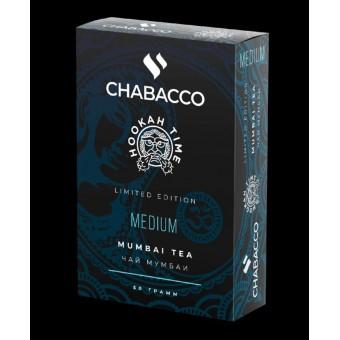 Chabacco Mumbai Tea (Чай Мумбаи) Medium 50 г. Смесь для кальяна купить в Минске