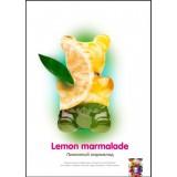 Puer gummy - Lemon Marmalade - лимонный мармелад Безникотиновая кальянная смесь, 50 г