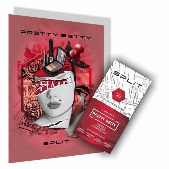 Split Pretty Betty (Бодрящая Кола С Кубиком Льда) 50 г. Смесь для кальяна купить в Минске