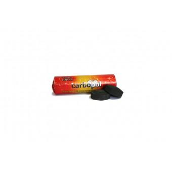 Уголь для кальяна Carbopol 35 мм (саморазжигающийся)