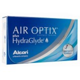 Контактные линзы Air Optix plus Hydraglyde (Alcon)