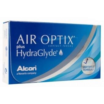 Контактные линзы Air Optix plus Hydraglyde (Alcon)