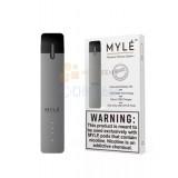 Стартовый набор MYLE V.4 Classic Silver. Серебристый. Без картриджей