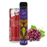 Elf Bar 1500 Lux - Энергетик и Виноград - Red Bull Grapes