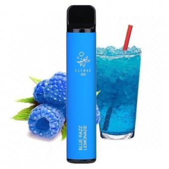 Elf Bar 850 (до 1500 затяжек) - Blue Razz lemonade - Черника лимонад. Одноразовый электронный испаритель (парогенератор)