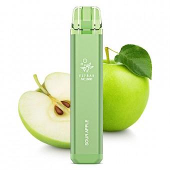 Elf Bar NC 1800 (до 1800 затяжек) - Sour Apple - Кислое яблоко. Одноразовый электронный испаритель (парогенератор)