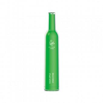 Elf Bar CR500(до 500 затяжек) - Кислое яблоко - Sour Apple. Одноразовый электронный испаритель (парогенератор)