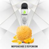 Fumari 800 - Персиковое мороженное. 0мг Одноразовый электронный испаритель (парогенератор)