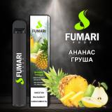 Fumari 800 - Ананас Груша. Одноразовый электронный испаритель (парогенератор)