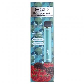 HQD King 2000 - Мята, хвоя, лесные ягоды / Siberia. Одноразовый вейп