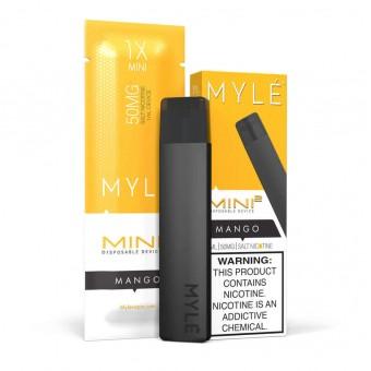 MYLE Mini 2 Манго 50мг. Одноразовый электронный испаритель (парогенератор)