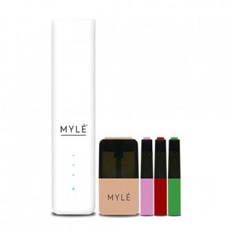 Покупка Стартовый набор MYLE V.4, 4 картриджа, белый, 50мг, описание, отзывы, цена