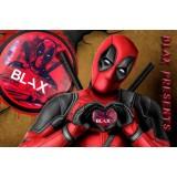 150мг Blax Deadpool/Клубничная жвачка (снюс). Жевательная смесь