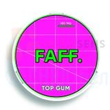 150мг FAFF Жвачка Клубника-Киви Top Gum (снюс). Жевательная смесь