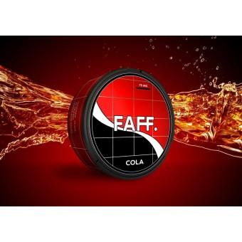 Жевательная смесь FAFF Кола (Cola) (снюс). 75мг