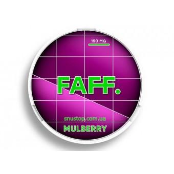 Жевательная смесь FAFF Ягоды шелковица Mulberry (снюс). 150мг