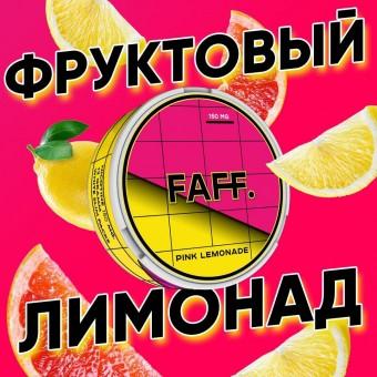 Жевательная смесь FAFF Малиновый лимонад Pink Lemonade (снюс). 150мг
