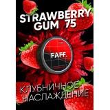 75мг FAFF Клубничная жвачка STRAWBERRY GUM (снюс). Жевательная смесь