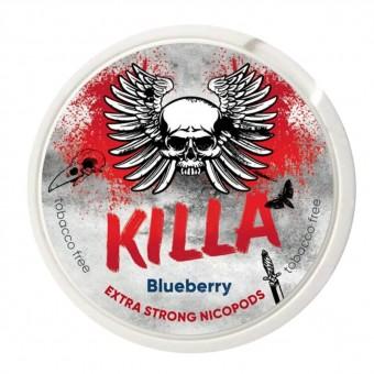 Жевательная смесь 24мг Killa - Blueberry Черника (снюс)