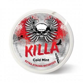 Жевательная смесь 24мг Killa - Cold Mint Ментол (снюс)