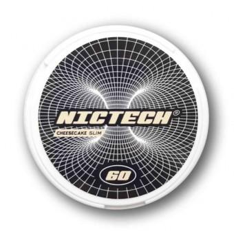 Жевательная смесь Nictech Cheesecake Чизкейк (снюс) 60 мг