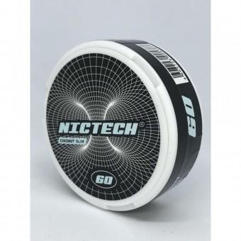 Жевательная смесь Nictech Coconut Кокос (снюс) 60 мг