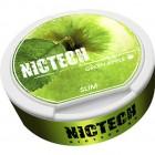 Жевательная смесь NICTECH Green Apple (зелёное яблоко) (снюс). 40мг
