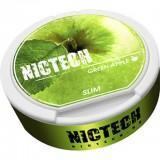 40мг зелёное яблоко NICTECH (Green Apple) (снюс). Жевательная смесь