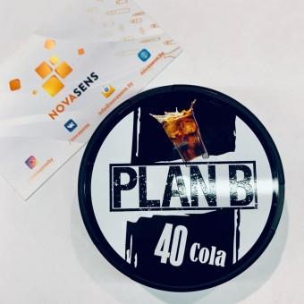 Жевательная смесь Plan B Кола Cola (снюс). 40мг