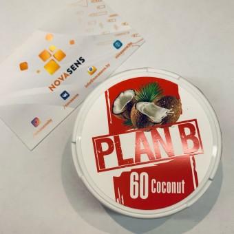 Жевательная смесь Plan B Coconut Кокос (снюс). 60мг