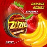 150мг ZuZu Banana bomba Банан, клубника (снюс). Жевательная смесь