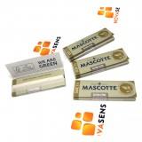 Бумага сигарет. Mascotte Extra Thin Organic 1 1/4, Австрия